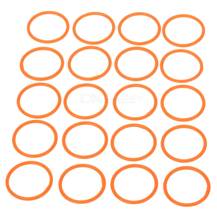 Water-tight O-Ring Seal (20mm 20-Pack)