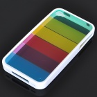 Charming Rainbow Protective Back Case for Iphone 4