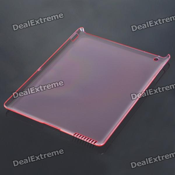 Protective Crystal Case for iPad 2 (Translucent Pink)