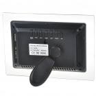 "7"" Wide Screen TFT LCD Desktop Digital Photo Frame with SD/MMC/TV Out - Black (480x234px)"