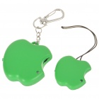 Apple Style Anti-Lost Alarm Device for Kid/Pet/Purse/Bag/Cell Phone - Green (2 x CR2032)