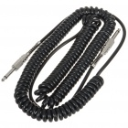 Retro Coil Instrument Guitar Bass Cable Cord (Length-7M)