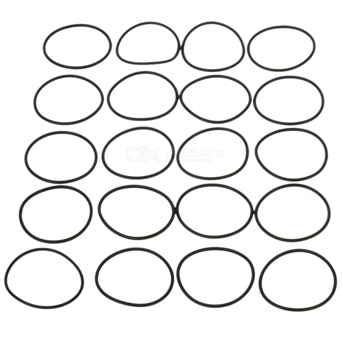 Water-tight O-Ring Seal (30mm 20-Pack)