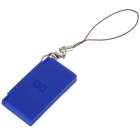 Mini Rubber NDS Shaped Cellphone Strap - Deep Blue