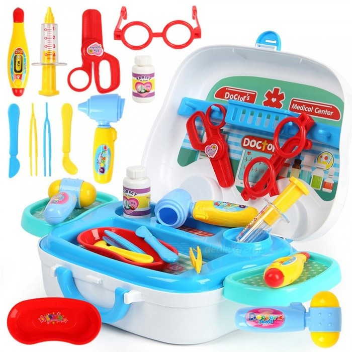 82cf81d53 Kids Doctor Toys Children Play House Toy Baby Emergency Car Style Suitcase  Medical Kits Cosplay Nurse Medicine Box Multicolor - Free shipping -  DealExtreme