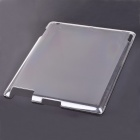 Protective Plastic Case for Apple iPad 2 - Transparent White