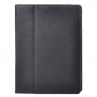 Protective PU Leather Case for Apple iPad 2 - Black