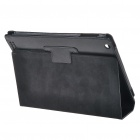 Suojaava PU Leather Case for iPad 2 - Musta