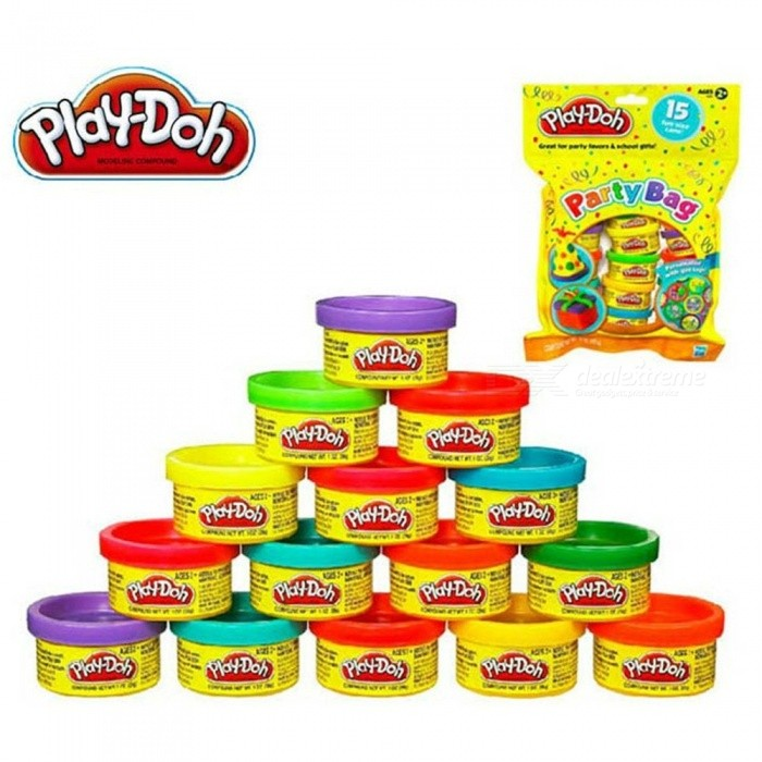 Play Doh 15 Color Plasticine Modeling Clay Kids Toys Diy