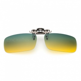 Eastor Glasses Polarized Clip on Type Day and Night for Male and Female Drivers Night Vision Driving Sunglasses