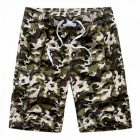 Fashion Men\'s Casual Camouflage Board Shorts, Casual Quick Dry Large Size Summer Male Beach Shorts, Short Pants Gray/XXXL