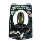 3-LED Battery-free Hand-Crank Dynamo Headlamp