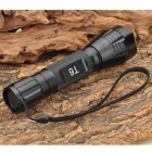 UltraFire NH-T60 HA-II XM-LT6 5-Mode 975-Lumen White LED Flashlight with Strap (1 x 18650)