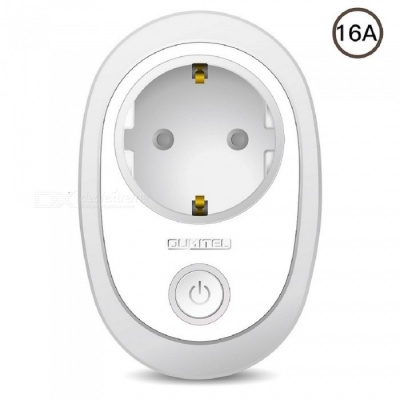 OUKITEL P2 16A Wi-Fi Smart Socket, Supports Voice Control - White