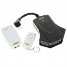 3-Outlet Outdoor & Indoor Remote Power Hub