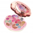 Cosmetic Make-Up 22-Color Eye Shadow Kit with Mirror & Brushes