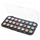 Cosmetic Make-Up 24-Color Eye Shadow Kit with Brush