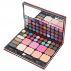 Cosmetic Make-Up 64-Color Eye Shadow Kit with Mirror & Brushes