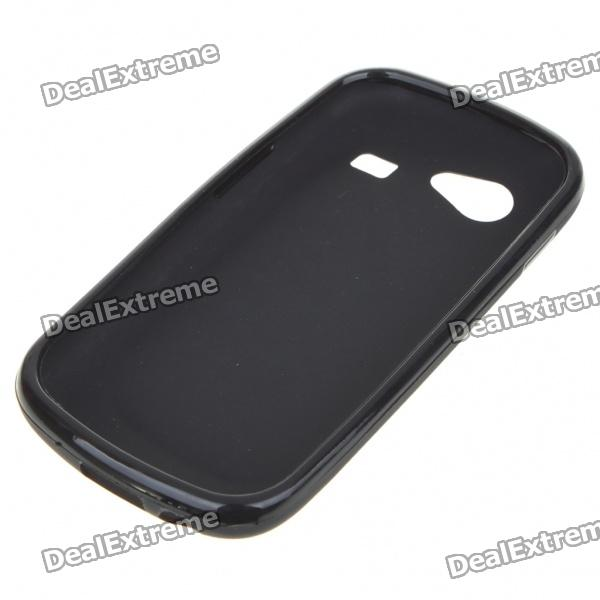 Protective PVC Case + Screen Guards + Cleaning Cloth + Stylus for Samsung i9020/Nexus S - Black