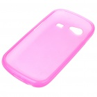 Protective PVC Case + Screen Guards + Cleaning Cloth + Stylus for Samsung i9020/Nexus S - Pink