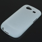 Protective PVC Case + Screen Guards + Cleaning Cloth + Stylus for Samsung i9020/Nexus S - White