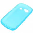 Protective PVC Case + Screen Guards + Cleaning Cloth + Stylus for Samsung i9020/Nexus S - Blue
