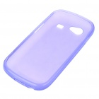 Protective PVC Case + Screen Guards + Cleaning Cloth + Stylus for Samsung i9020/Nexus S - Purple