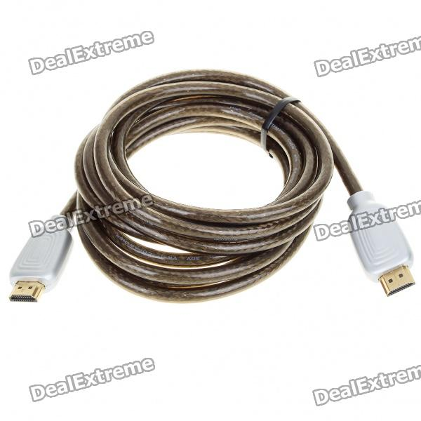 Gold Plated 1080P HDMI V1.4 Male to Male Connection Cable (2.8M-Length)