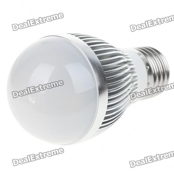 E27 3W 300lm 3500K Warm White Light 3-LED Globular Bulb (AC 85~265V)