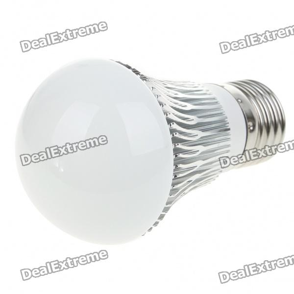 E27 3W 300-Lumen 6500K 3-LED White Light Lamp Bulb (AC 85~265V) high quality 9w epistar led spot bulb e27 base par38 led light 900lm white ac85 265v ce