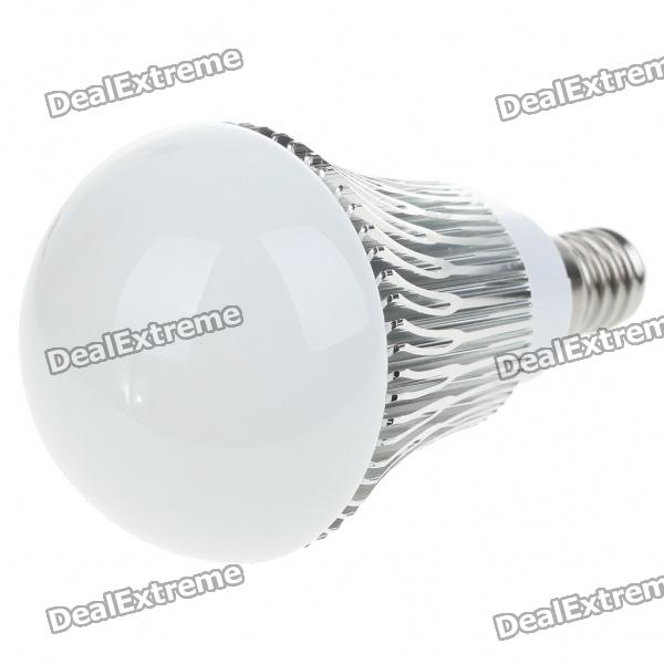 купить E14 3W 300-Lumen 6500K 3-LED White Light Lamp Bulb (AC 85~265V) онлайн