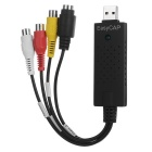 EasyCap USB Video Capture Adapter with Audio - Black