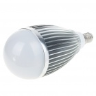 E14 7W 700-Lumen 6500K 7-LED White Light Lamp Bulb (AC 85~265V)