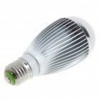 E27 7W 700-Lumen 6500K 7-LED White Light Lamp Bulb (AC 85~265V)