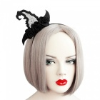 Women Novelty Witch Hat Style Hairband Party Supplies Head Wear Girl Halloween Headdress Hair Band Accessories Headband Black