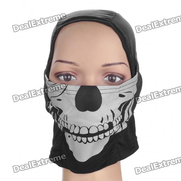 Scare Lifelike Skull Head Mask Headgear - Random Color army of two mask airsoft mask party paintball mask and prop mask stone head