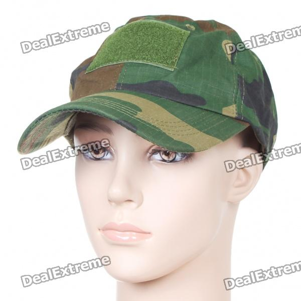 Trendy Travel Hat/Cap - Deep Camouflage trendy cotton fedora hat cap black
