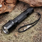 UltraFire R2 XM-LT6 5-Mode 510-Lumen White LED Flashlight with Strap - Black (1 x 18650)