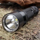 UltraFire 5-Mode 510-Lumen White LED Flashlight with Strap - Black (1 x 18650)