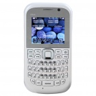 "MM4 2.0"" LCD Quad SIM Quad Network Standby Quadband GSM TV Cell Phone with FM/JAVA - White"