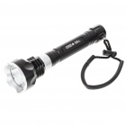 "MJ-810E HA-III CREE XM-L T6 3-Mode ""1000-Lumen"" LED Diving Flashlight Set (2x18650/4x123A/4x16340)"