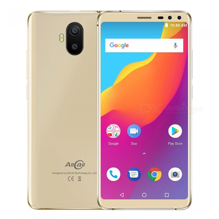 Allcall S1 Android 8 1 189 5 5 Inches Smartphone w/ MT6580 Quad-Core, 2GB  RAM, 16GB ROM