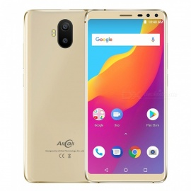 Allcall S1 Android 8.1 18:9 5.5 Inches Smartphone w/ MT6580 Quad-Core, 2GB RAM, 16GB ROM - Golden