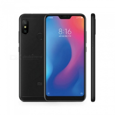 Xiaomi A2 LITE Android Phone with 4GB RAM, 64GB ROM - Black
