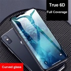 HD Clear 5D / 6D Full Covered Curved Tempered Glass Screen Protector Film For IPHONE X, 7 8, 7 Plus / 8 Plus Black/IPHONE7/8 PLUS