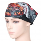 Triangular Head Scarf - Black