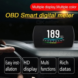 "P12 5.8"" TFT OBD Hud Head Up Display, Digital Car Speed Projector / On-Board Computer / OBD2 Speedometer"