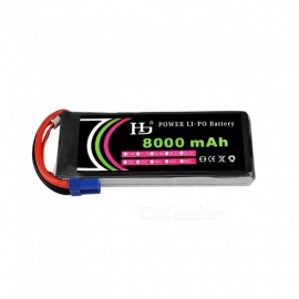 HJ 11.1V 8000mAh 3S 25C ECS Plug Lithium-ion Battery for Multi Axis Aerial Plant Protection Machine