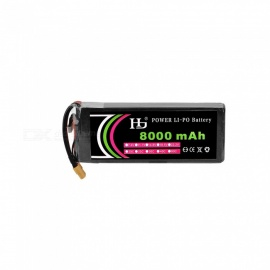 HJ 14.8V 8000mAh 4S 25C XT60 Plug Lithium-ion Battery for Multi Axis Aerial Plant Protection Machine