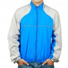 Ultralight Windproof Breathability Compact Packable Jacket Coat - Blue (Size M)